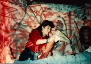 Marion Lopez gives her boyfriend the worst payback for cheating on her by ripping his right leg off at the knee @ Innovators Design Corp on 3/4/89.  Marion was Madison Di Loren nail technician.
