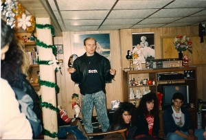 "Terry's ready to start making ""Madame Red"" @ Wickham's on 11/25/88"