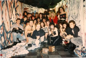 Madame Red cast & crew @ Cutting Edge Hair Studio in East Meadow, NY on 11/25/88