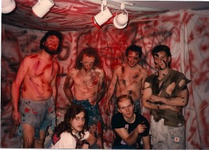 The REDO of the big Hell was done much smaller the second time @ Flash Studios in Central Islip on 4/8/89