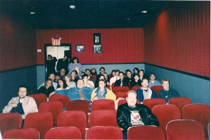 Some of the folks in attendance at the Premiere of Evil Streets @ Malverne Cinema 4