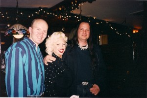 Terry, SaRenna Lee & Michael Knight celebrate after Evil Streets Premiere