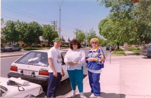 Terry & Paula with Arlene Rothenberg (Rob's mom).