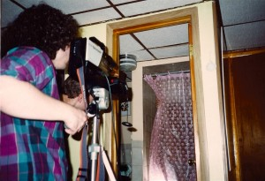 Lou Trapani films Frank Bartell's electrocution in the shower @ Wickham's apartment in Elmont, NY