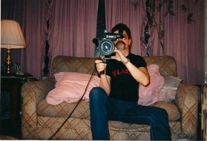 DP Gabe Gabrielsen shoots at Flash Studios in Central Islip, NY.  Gabe not only shot part of Double Fantasy but Terry's film Madame Red as well.  Terry met Gabe at a Long Island video maker's meeting in Levittown, NY.