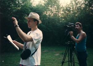 Terry directs DP Gabe Gabrielsen @ Gardiner Park