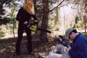 """Bloody Mary"" Brings her chainsaw down to close out the movie"