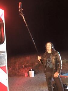 Sound Recordist/Designer Patrick Reilly carries a big stick on The Devil's Five