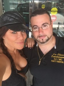 Diana Noris with Ed Gorman