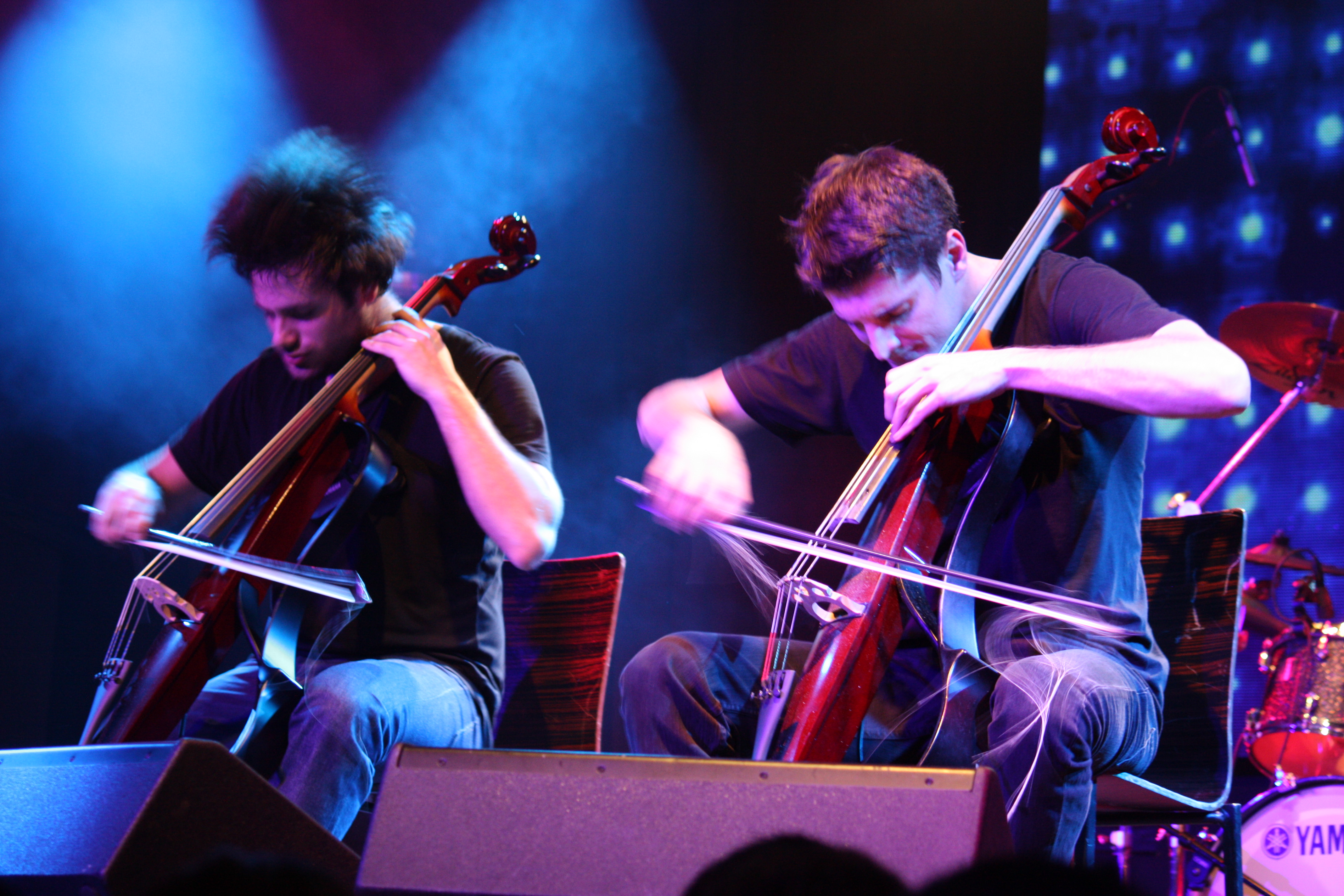 2cellos Live At Highline Ballroom Manta Ray Pictures Guardian Hiro Oxford Ss Shirt In Dusty Blue Biru Muda S 2cello7